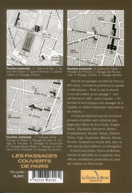 Promenade littéraire ; les passages couverts de Paris