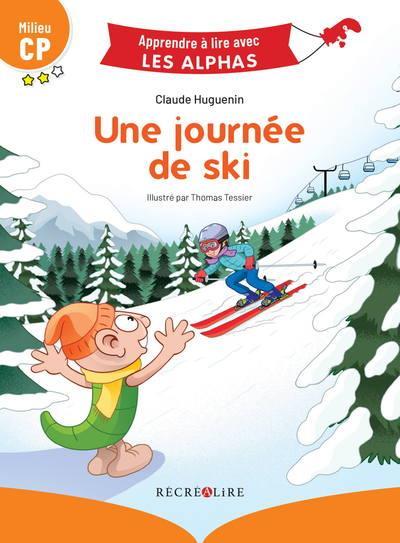 Apprendre à lire avec les Alphas ; une journée de ski