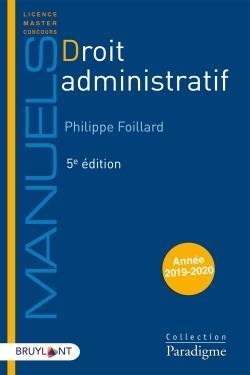 Droit administratif (édition 2019/2020)