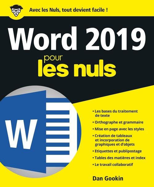 Word pour les nuls (édition 2019)