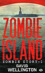 Couverture de Zombie story t.1 ; zombie island