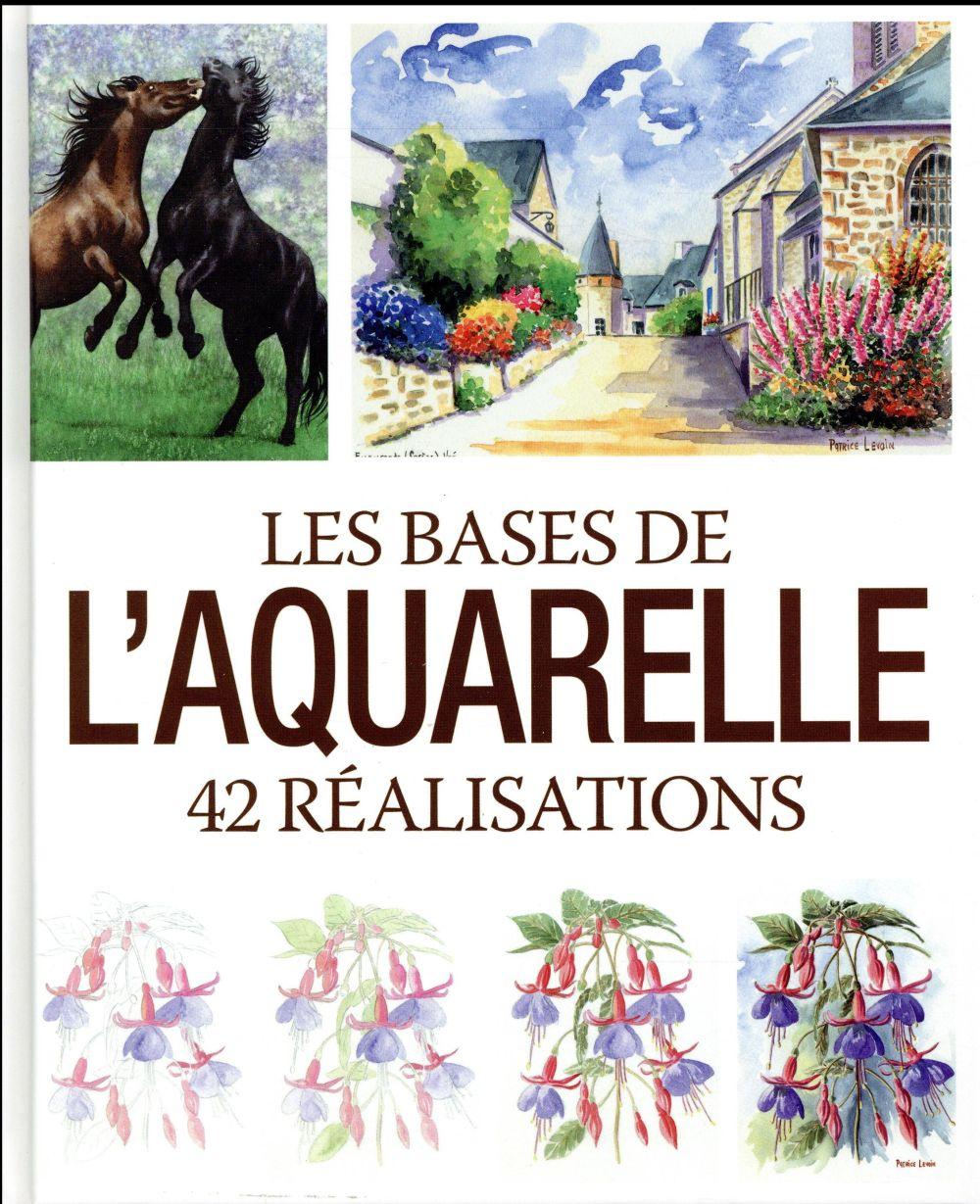 Les bases de l'aquarelle ; 42 réalisations