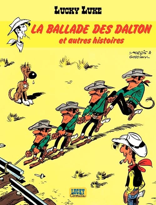 Lucky Luke T.17 ; la ballade des Dalton et autres histoires