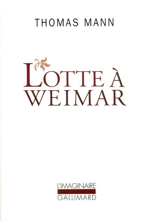 Lotte à Weimar