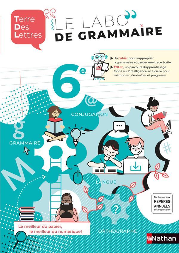 Terre des lettres ; 6e ; cahier de français (édition 2020)