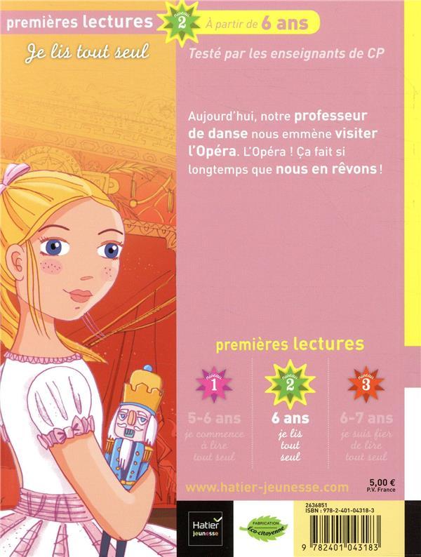 Lucie petite danseuse T.8 ; à l'opéra, côté scène