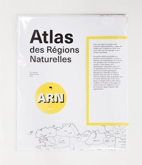 Atlas Des Regions Naturelles - La Carte /Francais