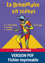 Vente EBooks : La grammaire en scène  - François FONTAINE - Christian Lamblin - Anne-Catherine Vivet-Rémy