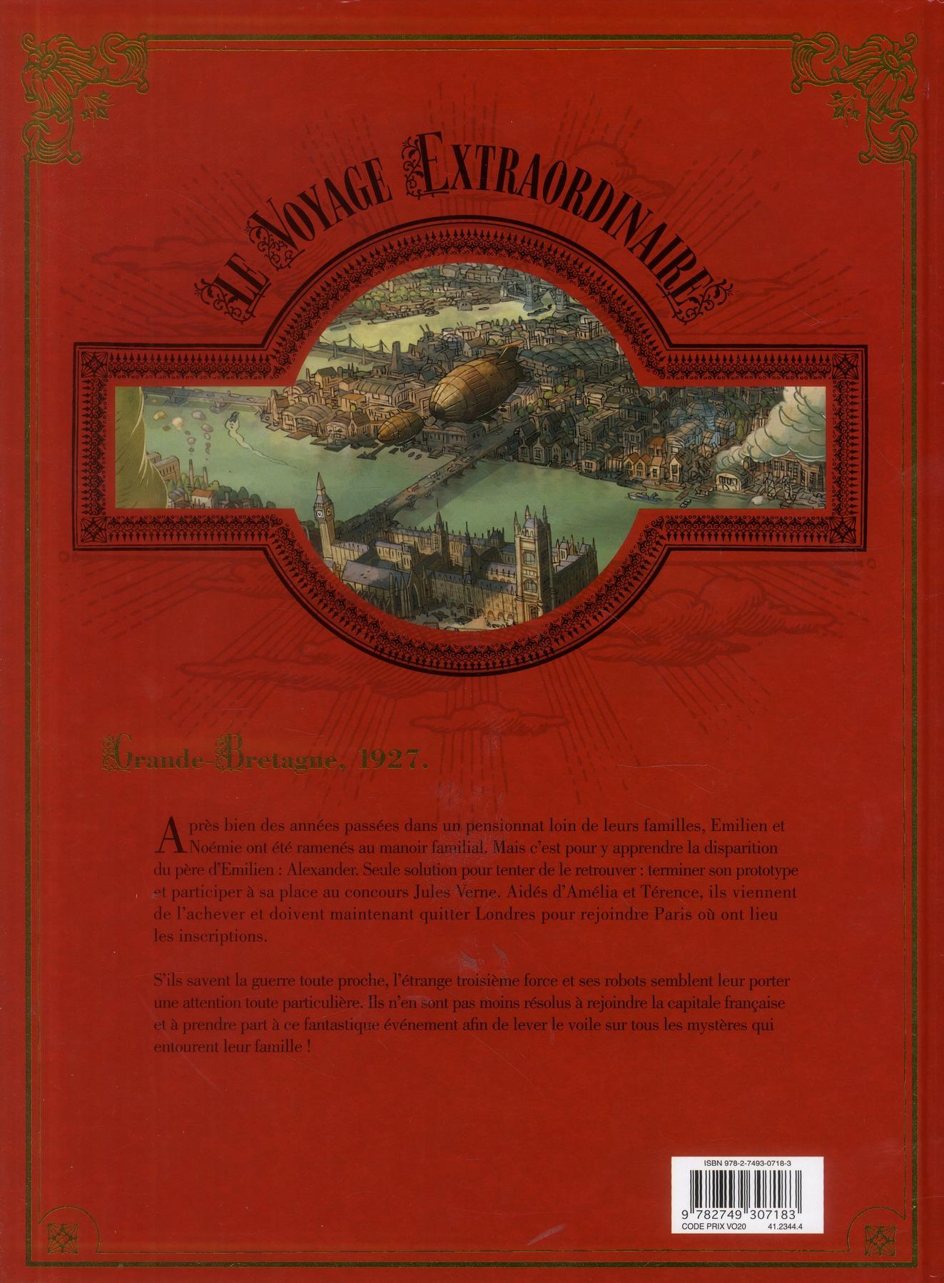 le voyage extraordinaire t.2 ; le trophée Jules Verne t.2