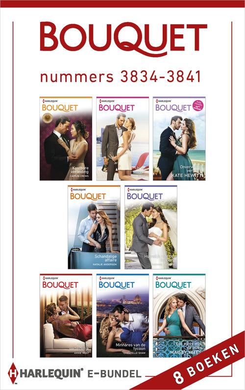 Bouquet e-bundel nummers 3834 - 3841 (8-in-1)