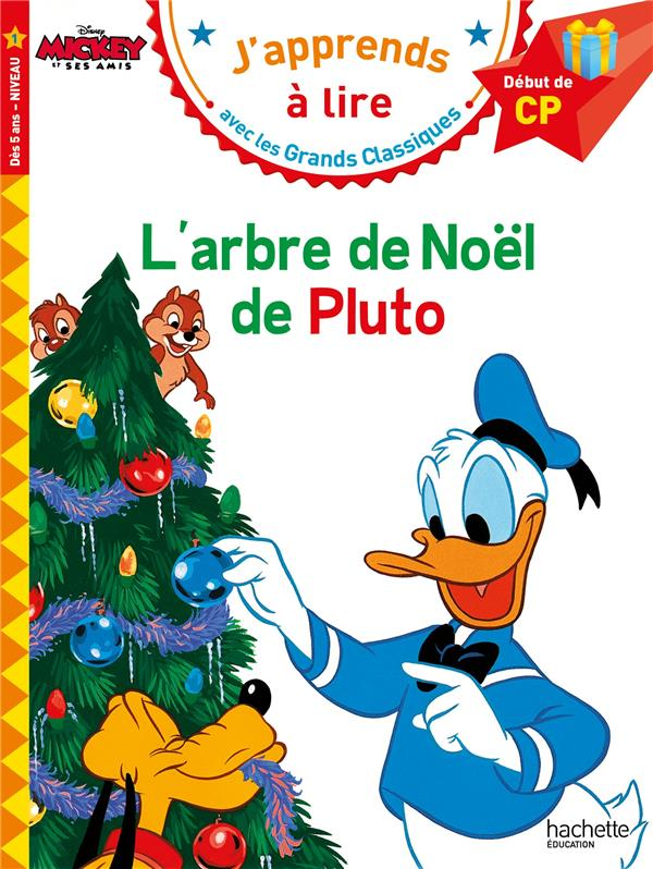 L'arbre de Noël de Pluto ; CP ; niveau 1