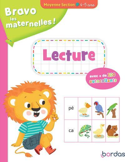 Bravo les maternelles ! ; lecture ; moyenne section ; 4/5 ans (édition 2020)
