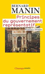 Couverture de Principes Du Gouvernement Representatif