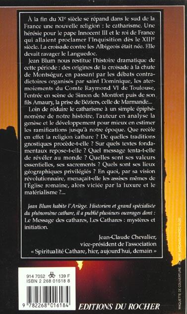 Mystere et message des cathares (anc. ed.)