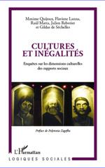 Cultures et inégalités  - Maxime Quijoux - Julien Rebotier - Flaviene Lanna - Gildas De Sechelles - Raul Matta