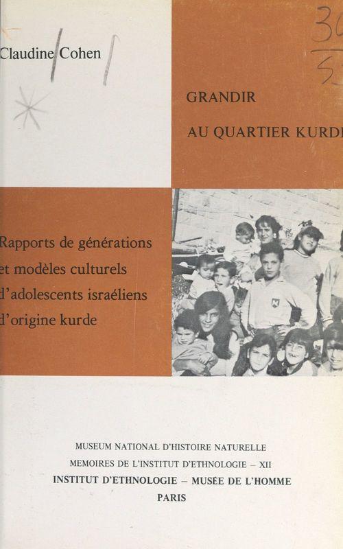Grandir au quartier kurde