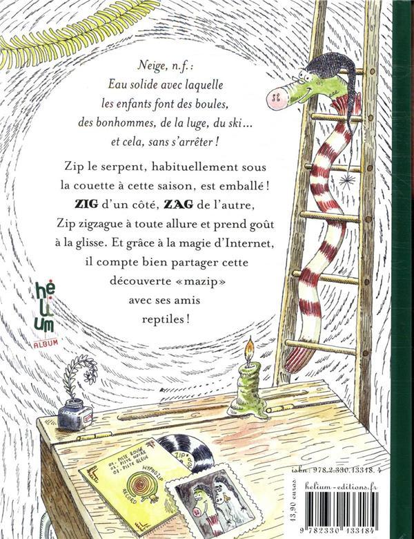 Zip, le serpent qui découvrit le ski