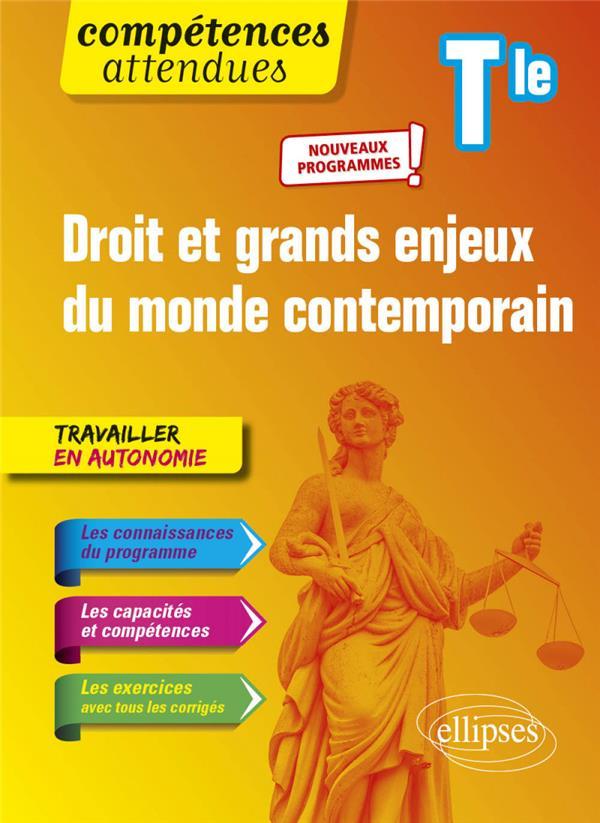 Droit et grands enjeux du monde contemporain ; terminale - nouveaux programmes