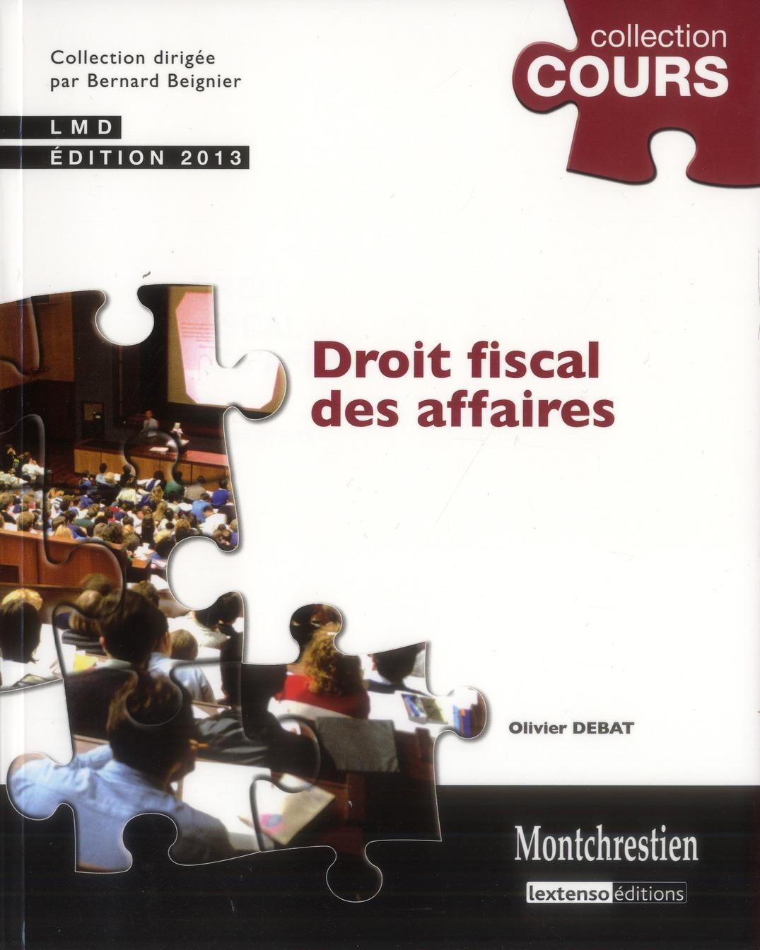 Droit fiscal des affaires (3e édition)