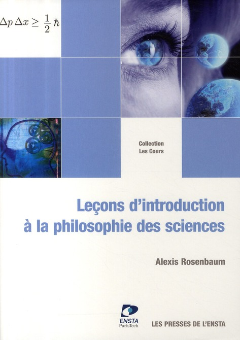 Leçons d'introduction à la philosophie des sciences