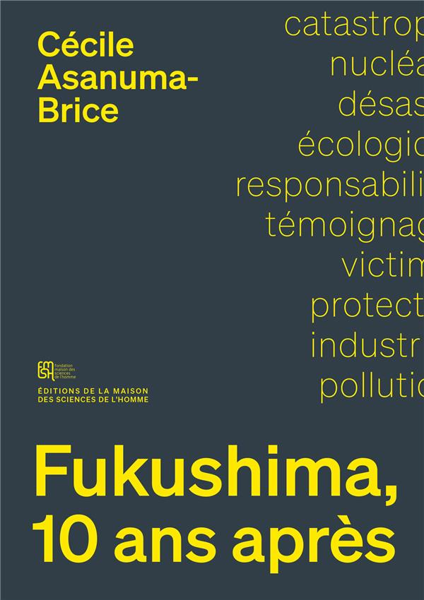 Fukushima, 10 ans apres. sociologie d'un desastre nucleaire