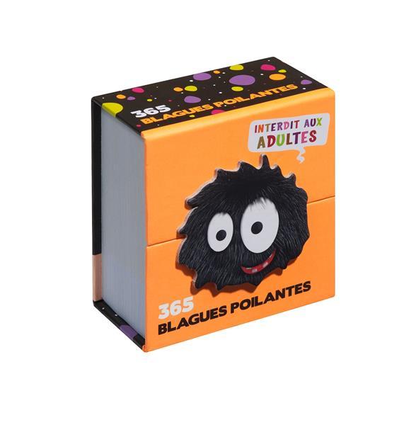 365 BLAGUES POILANTES  -  INTERDIT AUX ADULTES