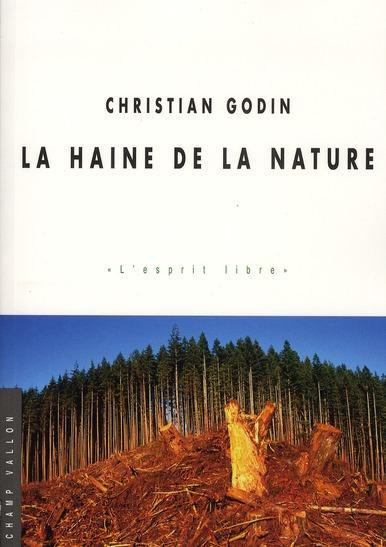 La haine de la nature
