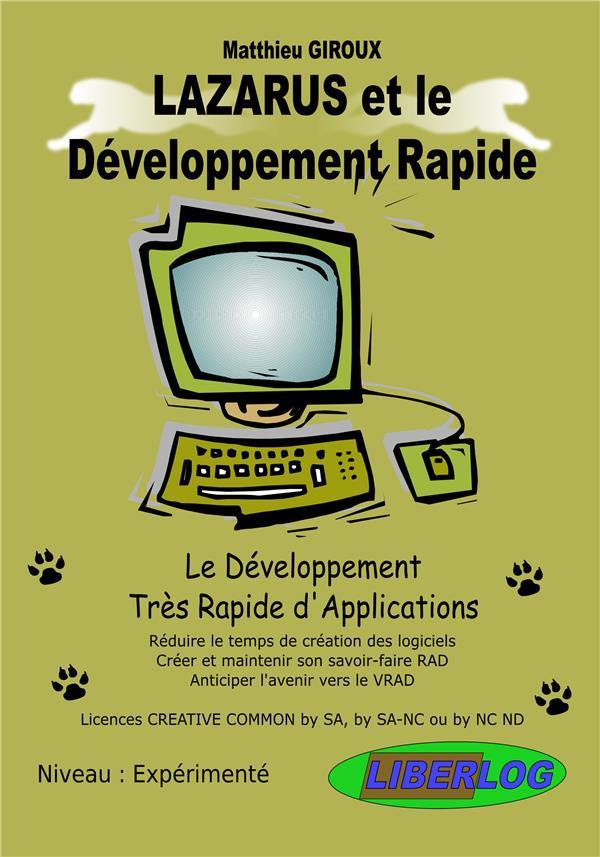 Lazarus et le développement rapide ; le développement très rapide d'applications