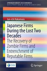 Japanese Firms During the Lost Two Decades  - Jun-ichi Nakamura
