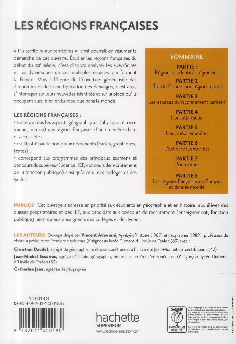 les régions françaises (2e édition)