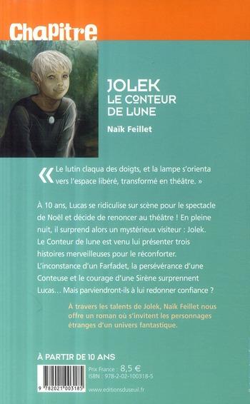 Jolek ; le conteur de lune