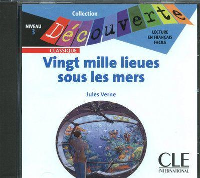 Vingt mille lieues sous les mers ; lecture en français facile ; niveau 3