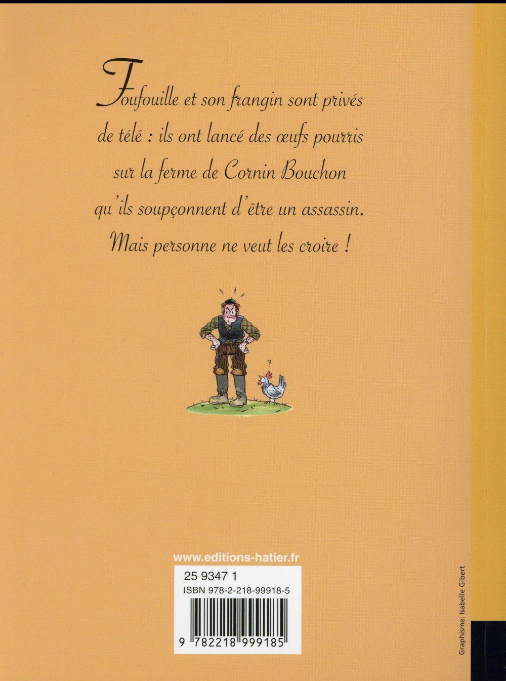 Ribambelle ; le crime de Cornin Bouchon ; CE1 (édition 2016)