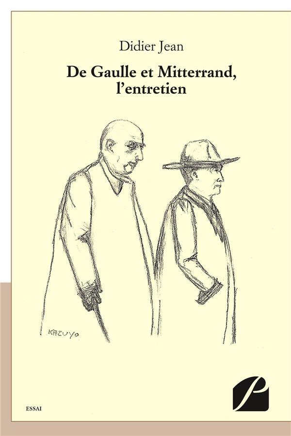 De Gaulle et Mitterrand, l'entretien