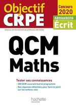 Vente Livre Numérique : QCM CRPE : Maths 2020  - Claude Maurin - Martine Bosc