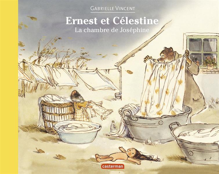 Ernest et Célestine ; la chambre de Joséphine