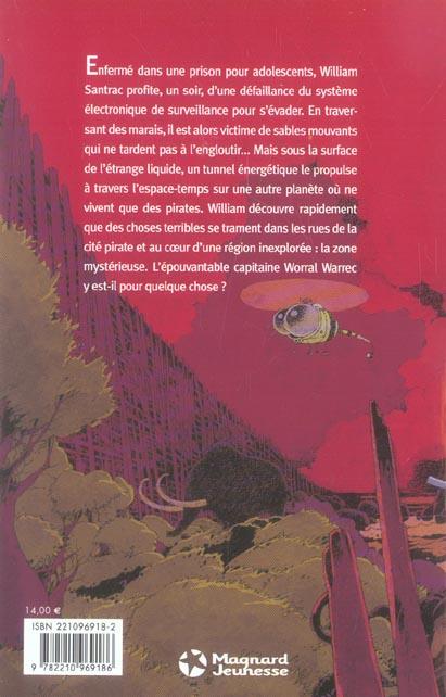 William Santrac t.1 ; la cité des pirates