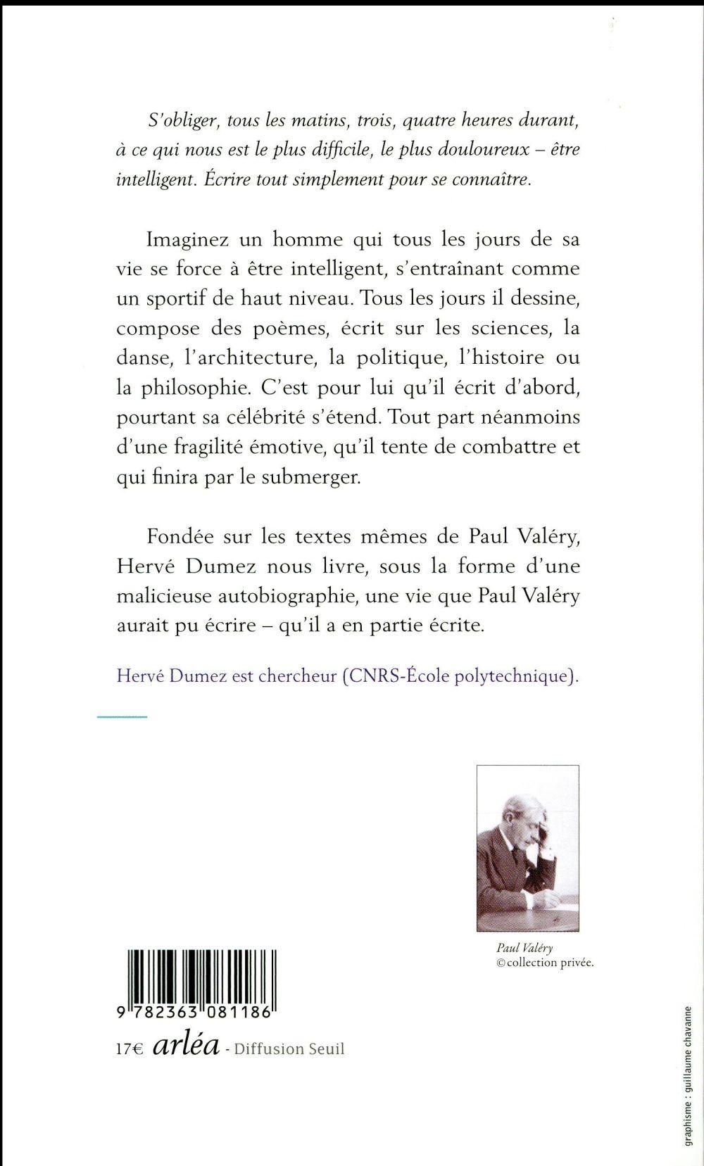 Incertain Paul Valéry