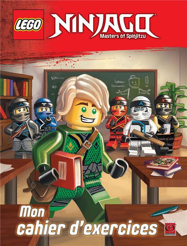 Lego Ninjago - masters of Spinjitzu ; mon cahier d'exercices
