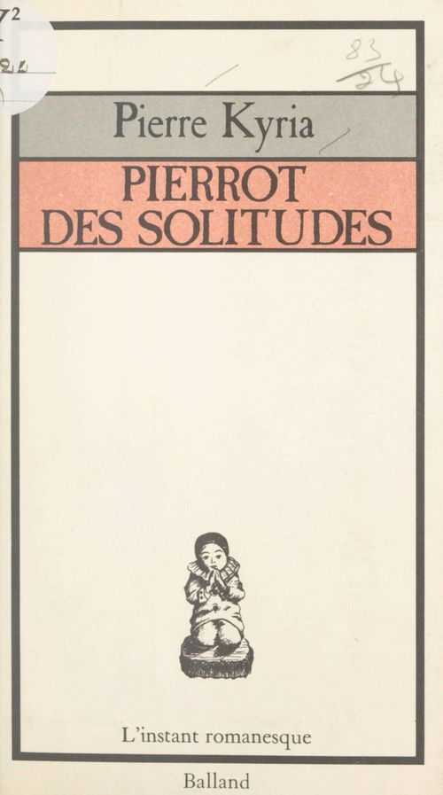 Pierrot des solitudes