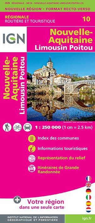 NR10 ; Nouvelle-Aquitaine, Limousin, Poitou