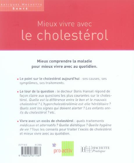 Mieux vivre avec le cholestérol