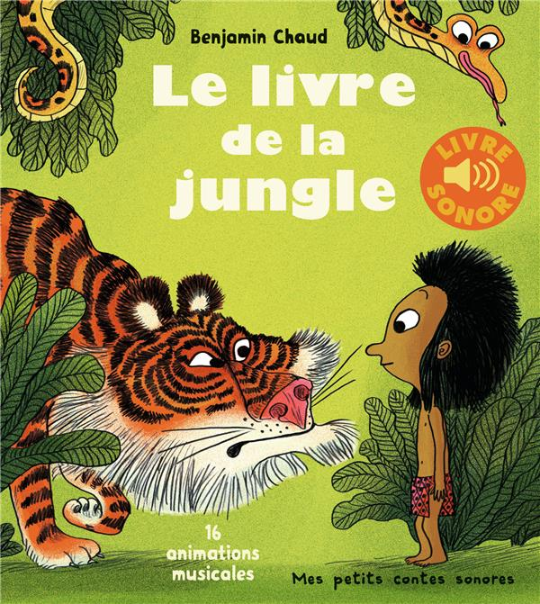 Le Livre De La Jungle 16 Animations Musicales Benjamin Chaud Gallimard Jeunesse Grand Format Montbarbon Bourg En Bresse
