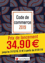 Code de commerce (édition 2019)