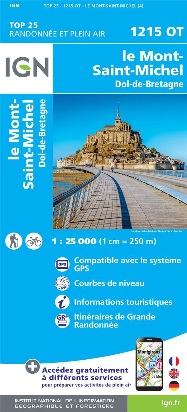 1215OT ; le Mont-Saint-Michel, Dol-de-Bretagne
