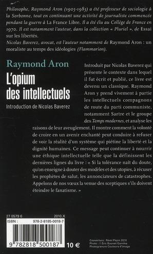 L'opium des intellectuels