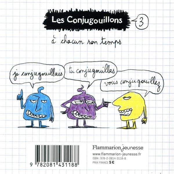 Les Conjugouillons T.3 ; j'écrivis un chef-d'oeuvre