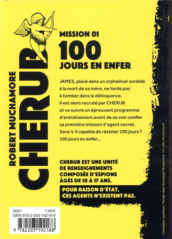 Cherub mission T.1 ; 100 jours en enfer