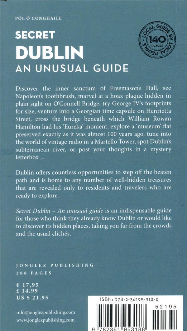 Dublin ; an unusual guide (édition 2019)