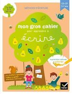 Vente Livre Numérique : Mon gros cahier pour apprendre à écrire  - Marie-Hélène Van Tilbeurgh - Isabelle Arnaudon